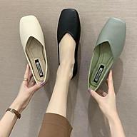 Giày búp bê nữ mũi vuông Mery Shoes MPS1 kiểu dáng basic vingta siêu xinh êm chân thumbnail