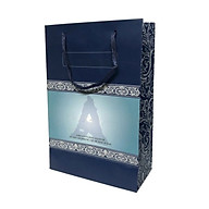 Combo 20 túi giấy đựng mỹ phẩm quà tặng cao cấp (bìa cứng) - Màu xanh Blue thumbnail