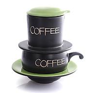 Phin Cafe Gốm Màu Xanh Thấp MNV-CF001 1 thumbnail