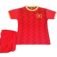 Bộ quần áo đá bóng Đội tuyển Việt Nam - Trẻ em từ 1 đến 15 tuổi - Màu đỏ thumbnail
