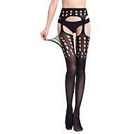 Sexy Hollow Jacquard XL Fishnet Stockings Women s Trousers Garter Belt Mesh Leggings W667(Q54) thumbnail