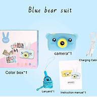Portable Children Camera Digital Mini Bear Cartoon Camera Long Battery Life Camera thumbnail