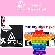 Combo sách vải và pop it, vừa giúp giảm stress vừa giúp trẻ phát triển trí tuệ và óc sáng tạo - Fed Kids thumbnail
