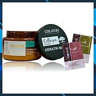 Kem ủ tóc Colatin Keratin hair mask phục hồi (dạng hũ) 500ml + Cặp gội xả gói 15mlx2 thumbnail