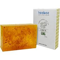Xà Bông Tắm Gừng Heebee Tẩy Tế Bào Chết, Săn Chắc Da Ginger Natural Soap Bar 100gr thumbnail