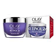 Kem dưỡng đêm chống lão hoá mạnh Olay Regenerist Retinol 24 Night Moisturiser - 50ml thumbnail