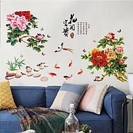 Decal dán tường hoa cúc đại đóa -SK9278 thumbnail