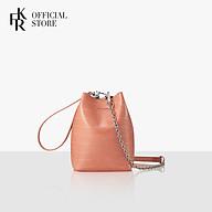 Túi đeo chéo Find Kapoor Mini Pingo Croco FBPG12CCAOP - màu hồng thumbnail