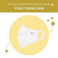 Combo 3 Khẩu Trang Vải Kháng Khuẩn Nam Dmax thumbnail