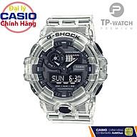 Đồng Hồ Nam Casio G-Shock GA-700SKE-7ADR Chính Hãng Casio G-Shock GA-700SKE-7A Transparent Pack Dây Nhựa thumbnail