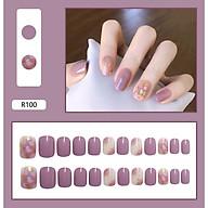 Bộ 24 móng tay giả nail thơi trang (như hình-R-100) thumbnail