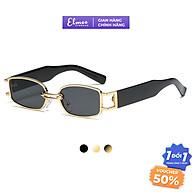 Kính mát nam nữ dáng chữ nhật Elmee chống UV400 thiết kế thời trang nhiều màu E005 thumbnail