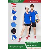 Bộ quần áo Bóng Chuyền cao cấp thương hiệu Hiwing H6 màu xanh đậm thumbnail