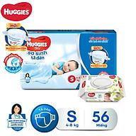 Tã dán sơ sinh Huggies Diapers New Born S56SG thumbnail