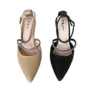 Sandal nữ 8 phân đính đá thời trang cao cấp 21725 thumbnail