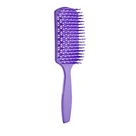 Anself Vent Brush for Quick Blow Drying Styling Detangling Hair Brush Wave Row Brush for Short Thick Tangles Curly Wet & Dry thumbnail