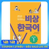 Tiếng Hàn Ứng Dụng Học Nhanh, Thực Hành Ngay Sơ Cấp 1 thumbnail