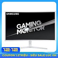 Màn Hình Cong Gaming Samsung LC32JG51FDEXXV 32inch FullHD 4ms 144Hz VA - Hàng Chính Hãng thumbnail