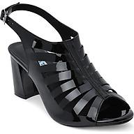 Giày Sandal Cắt Lazer Rosata RO109 - Đen thumbnail
