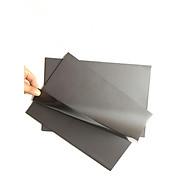 5 Tấm nam châm dẻo màu nâu hai mặt, tấm nam châm lá, nguyên liệu giáo cụ học tập thumbnail