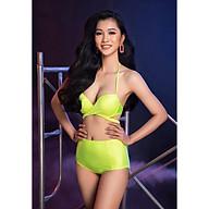 BIKINI PASSPORT - Bikini lưng cao, áo đan chéo - Xanh nõn - BS362_LM thumbnail