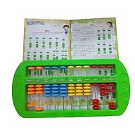 Bàn tính gẩy Soroban giúp bé học toán thông minh kèm hướng dẫn sử dụng - GIao màu ngẫu nhiên thumbnail
