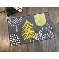 Thảm chùi chân cây thông vàng thumbnail
