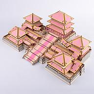 Đồ chơi lắp ráp gỗ 3D Mô hình Cung A Phòng Epang Palace - Tặng kèm Đèn LED trang trí thumbnail