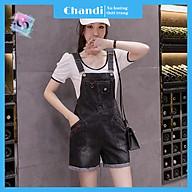 Yếm Jean Nữ Thương Hiệu Chandi, Yếm Nữ Quần cao cấp mẫu mới hot trend 2021 mã NT334 thumbnail
