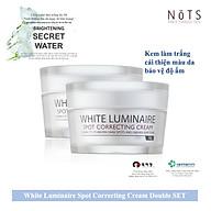 Combo - 2 Hộp Kem Dưỡng Trắng Da NoTS White Luminaire Spot Correcting Cream thumbnail