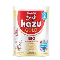 [Tinh tuý dưỡng chất Nhật Bản] Sữa bột KAZU BIO GOLD 810g 2+ (trên 24 tháng) thumbnail