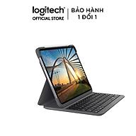 Bàn Phím Không Dây Logitech Slim Folio Pro dành cho iPad Pro 11inch (2020) - Hàng Chính Hãng thumbnail