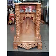 Bàn thờ Thần Tài Ông Địa đẹp gỗ Gõ đỏ ngang 60 cao 88, Mã SP G2 thumbnail