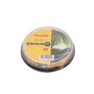 Bộ 10 Đĩa CD-R 12X 700MB Kodak UBL EC0122 Hàng Chính Hãng thumbnail