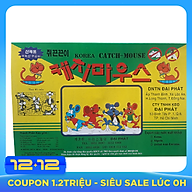 Combo 10 miếng Keo dán bẫy chuột, gián, thằn lằn, côn trùng Korea Catch Mouse thumbnail