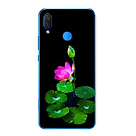 Ốp lưng dẻo cho điện thoại Huawei Y9 2019 - Lotus 02 thumbnail