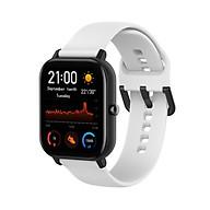 Dây Đeo Thay Thế Cho Đồng Hồ Thông Minh Smart Watch Size 20mm Xiaomi Amafit GTS Xiaomi Amazfit Bip Huawei Watch 2 Garmin Vivomove HR Samsung Galaxy Watch (42mm) - Dây Trơn - Size Nhỏ thumbnail