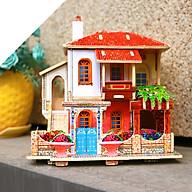 Đồ chơi lắp ráp gỗ 3D Mô hình Turkey Villa F140 thumbnail