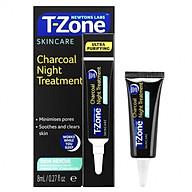 Gel La m Di u Da Mu n, Chô ng Thâm, Se Lỗ Chân Lông T-Zone Charcoal Night Treatment 8ml [ Được Mask 3W Clinic ] thumbnail