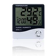 Đồng hồ đo nhiệt độ, độ ẩm model HTC-1 - Tặng kèm 03 móc dán tường 3D ngộ nghĩnh cỡ lớn siêu chắc chắn thumbnail
