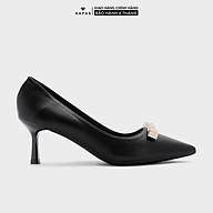 Giày Cao Gót Nữ Mũi Nhọn Tag Vàng 7Phân HAPAS - CG7792 thumbnail