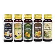 Hộp quà 5 loại mật ong 10lọx45g -HONECO thumbnail