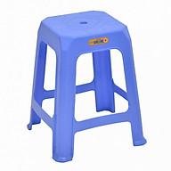 bộ 6 ghế nhựa cao đại Song Long mặt vuông lỗ tròn thumbnail