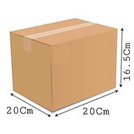20x20x16.5 - Combo 10 thùng giấy carton gói hàng thumbnail
