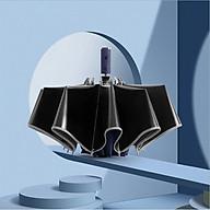Ô (dù) tự động 2 chiều cao cấp DandiHome chống UV - Xanh than - Ngược thumbnail