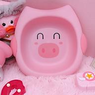 Thau rửa mặt cho bé hình thú ngẫu nhiên ( Tặng 01 khăn lau tay, 01 nút bịt ổ điện ) thumbnail