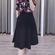 Chân váy xòe nữ công sở túi cv44 M1 thumbnail
