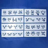 Bộ 8 Thước Vẽ Mỹ Thuật Trang Trí Sáng Tạo - Nét Mặt thumbnail