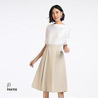Chân váy dài chất liệu thô họa tiết kẻ sọc dáng chữ A BJD52211- PANTIO thumbnail