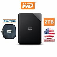 Ổ Cứng Di Động WD Elements SE 2TB 2.5 USB 3.0 - Hàng Chính Hãng thumbnail